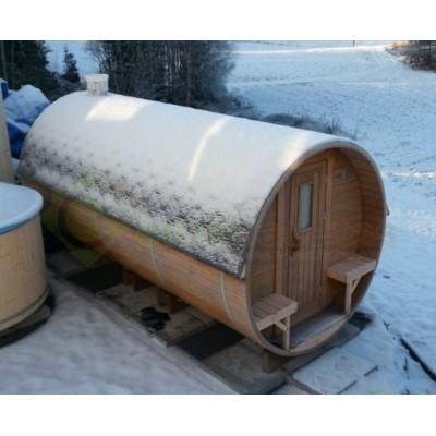 Sauna Barril 4.5 con vestuario
