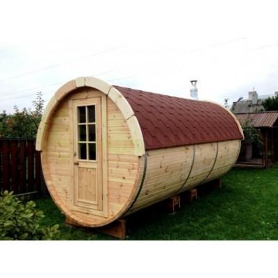 Sauna Barril 4.5 Plus con vestuario